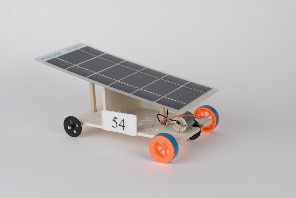6th grade solar powered car design